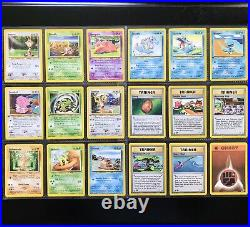 Pokemon NEO GENESIS Set COMPLETE Common Non Holo Cards /111 Lot + 1st Edition NM