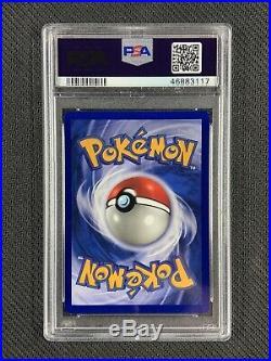 Pokemon PSA 9 Mint Pidgey Shadowless Base Set 1st Edition Grey Stamp 57/102