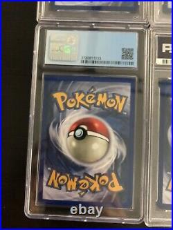 Pokemon PSA Lot of 7 WOTC Modern Graded Slabs 1st edition