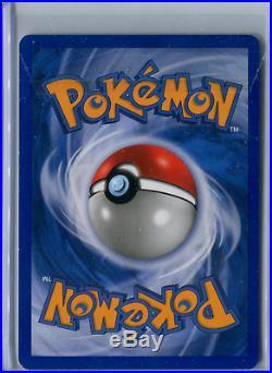 Pokemon Professor Elm's Training Method GHOST STAMP ERROR Misprint MINT 79/101