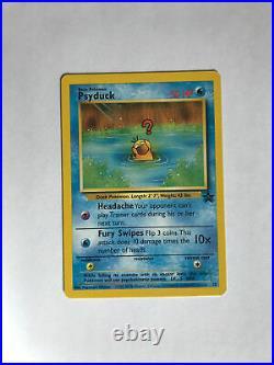 Pokemon Psyduck #20 Black Star PROMO WOTC Black Star Promo NM lot of 20