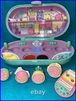 Polly Pocket Babysitting Stamper Baby Playground Stamp Set COMPLETE Bluebird