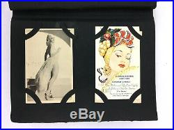 Post Card Collection Album Vintage 190 Cards Places ephemera lot postcard stamps