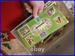 Postage Stamp Lot Many New & Used form the states and around the world