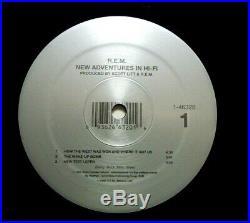 R. E. M. New Adventures In Hi-Fi 2-LP GOLD STAMPED PROMO Vinyl REM Mint-