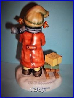 RARE Hummel GOOD TIDINGS # 2026 2/0 TMK 8Christmas Tree Stamp4TallMINT
