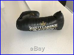 RARE SOLE STAMP SCOTTY CAMERON NEWPORT TeI3 Refinished MINT w Headcover