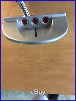 Scotty Cameron cs 34 Center Shafted Limited GoLo S5, 1st of 500 stamped -MINT