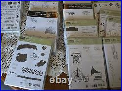 Stampin Up Stamps Lot