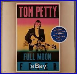 Super rare TOM PETTY FULL MOON FEVER gold stamp promo MINT vinyl