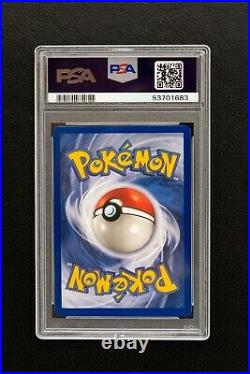 THICK STAMP 1999 Pokemon Base Unlimited Charizard #4/102 Holo RARE PSA 9 MINT