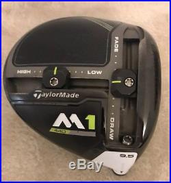 TOUR ISSUE TaylorMade 2017 M1 440 9.5 Driver -HEAD- (+ Stamp) RH MINT