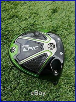 Tour Issue! CALLAWAY GBB EPIC SUB ZER0 10.5 DRIVER -Head Only- (TC Stamp), MINT