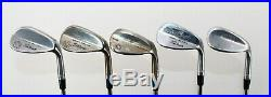 Tour-Issued Titleist 10 Wedge Lot with Prototypes and Vokey Designs Stamped RH