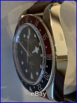 Tudor Pepsi Black Bay GMT MINT 79830RB Deployant Strap Model 2019 Stamped Card
