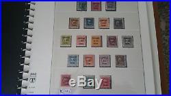 U. S Full Set Scott#k1-k18 Shanghai China Overprints Mint/used H, Lh