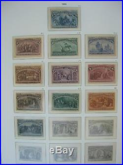 US Classic Mint/Used Hingeless Album Collection + Many CERTS with#'s 64-70a-MORE