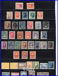 US Hawaii Scott #30//52, O2 to R3, collection of 40 different mint and used