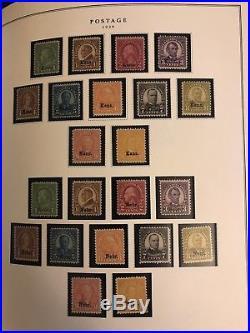 US Stamp Collection2 Albums(Vol 1-3) 2 StockbooksDealer Card Album3500++Mint