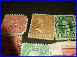 USED Rare Stamps 3c 2c 1c lot