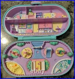 Vintage 1992 Bluebird Polly Pocket Lot Ink Stamping School & Nursery Sets 17pcs