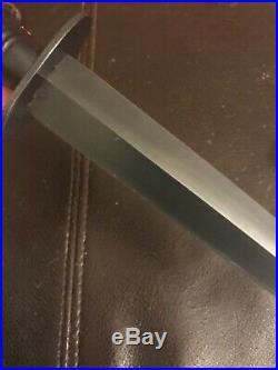 Vintage Fairbairn Sykes Fighting Knife Dagger Stamped Sheffield England Mint