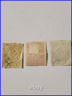 WW2 German RARE Nazi Swastika Stamps Multi Colors Lot