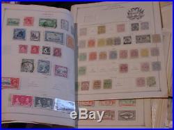 Worldwide Stamps Large Usps Box Lot 120 Pics